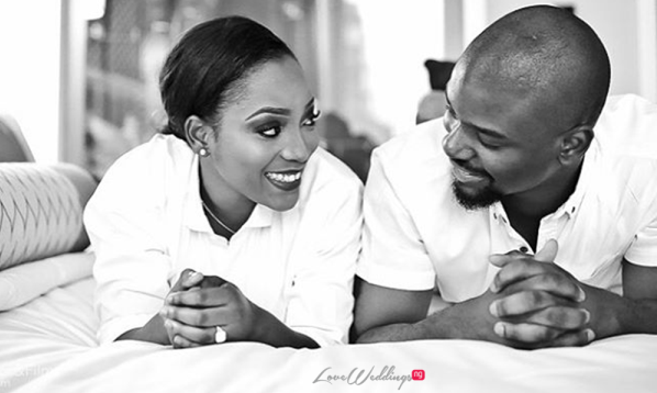 Nigerian Engagement Shoot - Caroline Tobi #CacaTobi LoveweddingsNG 2