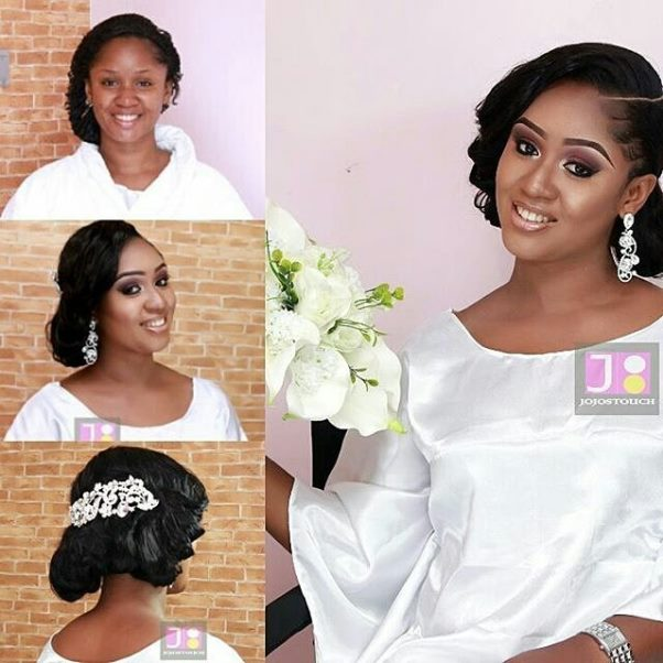 Nigerian Makeovers - Before and After Jojos Touch LoveweddingsNG