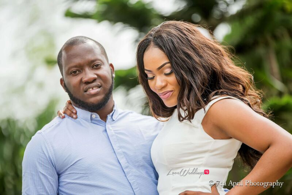 Nigerian Pre Wedding Shoot - Afaa and Percy Engagement 7th April Photography LoveweddingsNG 7