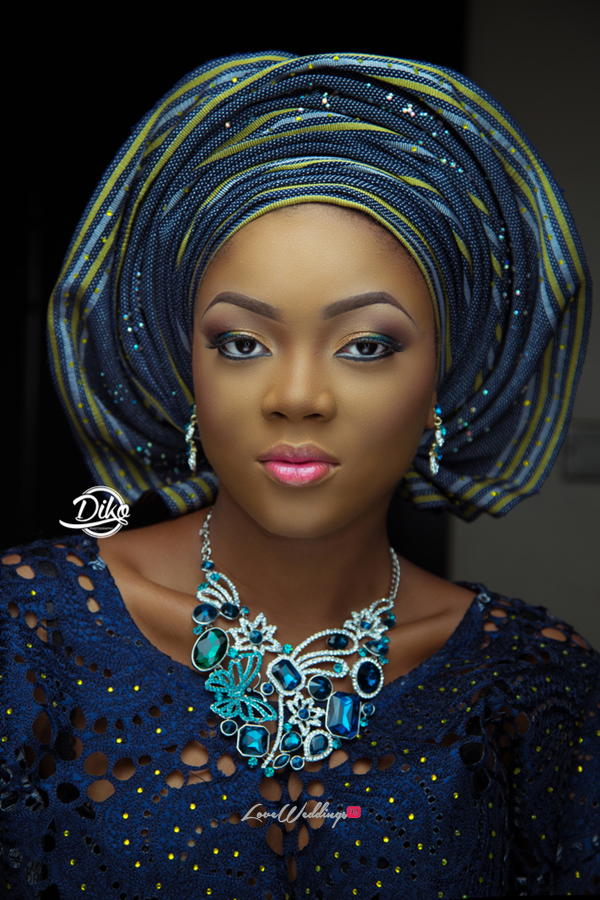 Nigerian Traditional Bridal Look - LoveweddingsNG