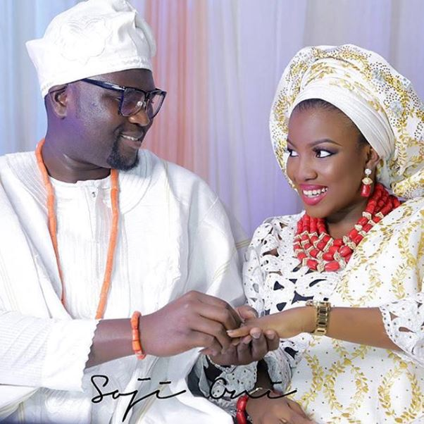 Nigerian Traditional Couple Boludotman2015 LoveweddingsNG Soji Oni