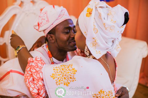 Nigerian Traditional Couple - Teju Yinka LoveweddingsNG 2
