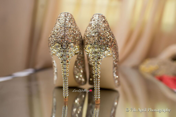 Nigerian Traditional Wedding - Afaa and Percy 7th April Photography LoveweddingsNG shoes