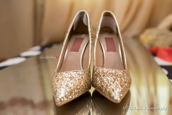Nigerian Traditional Wedding - Afaa and Percy 7th April Photography LoveweddingsNG shoes1