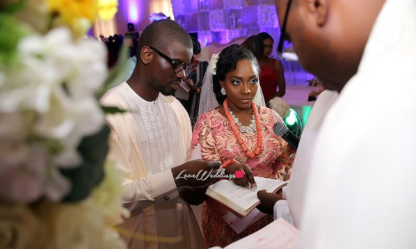 #CacaTobi16: Caroline & Oluwatobi's 'Perfectly Imperfect' Valentine's Wedding