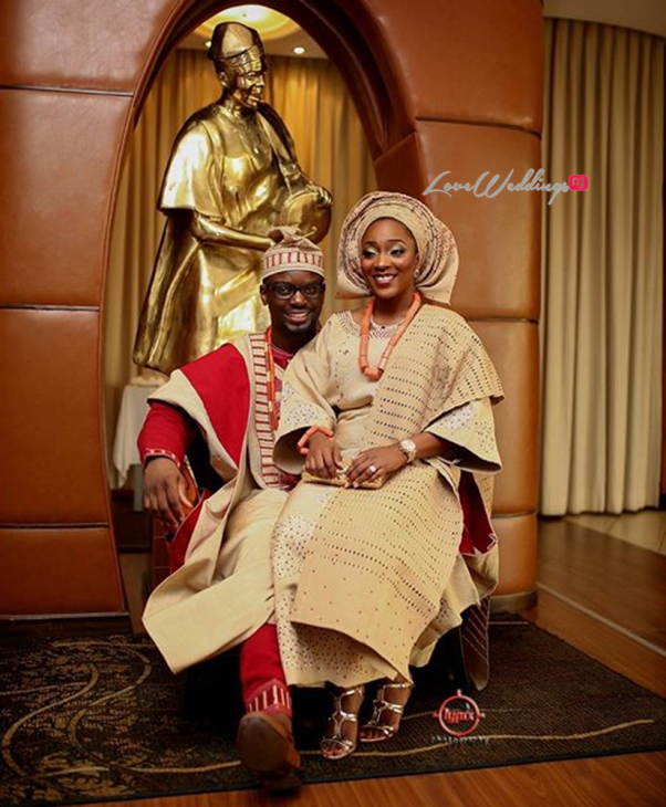 Nigerian Traditional Wedding - Caroline Tobi #CacaTobi LoveweddingsNG 17