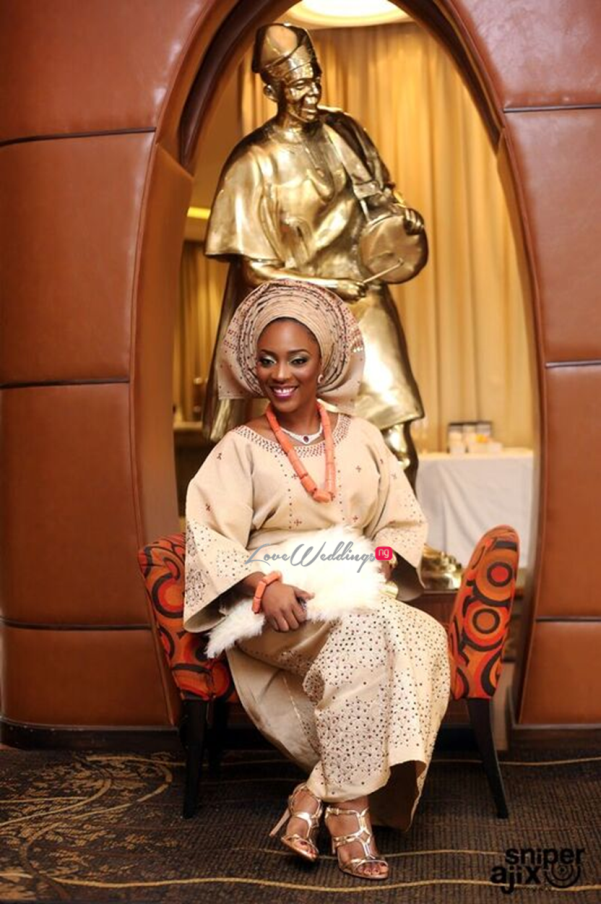 Nigerian Traditional Wedding - Caroline Tobi #CacaTobi LoveweddingsNG 3