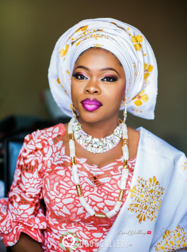 Nigerian Traditional Wedding - Teju - Makeovers by Teju LoveweddingsNG