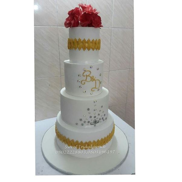 Nigerian Wedding Cake Boludotman2015 LoveweddingsNG Sweet Indulgence
