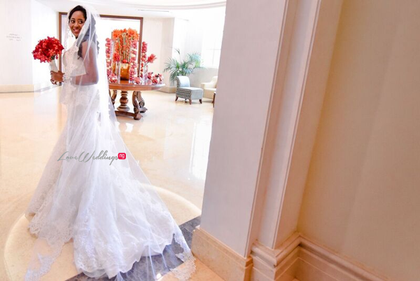 Nigerian Wedding in Dubai Bride LoveweddingsNG Save the Date