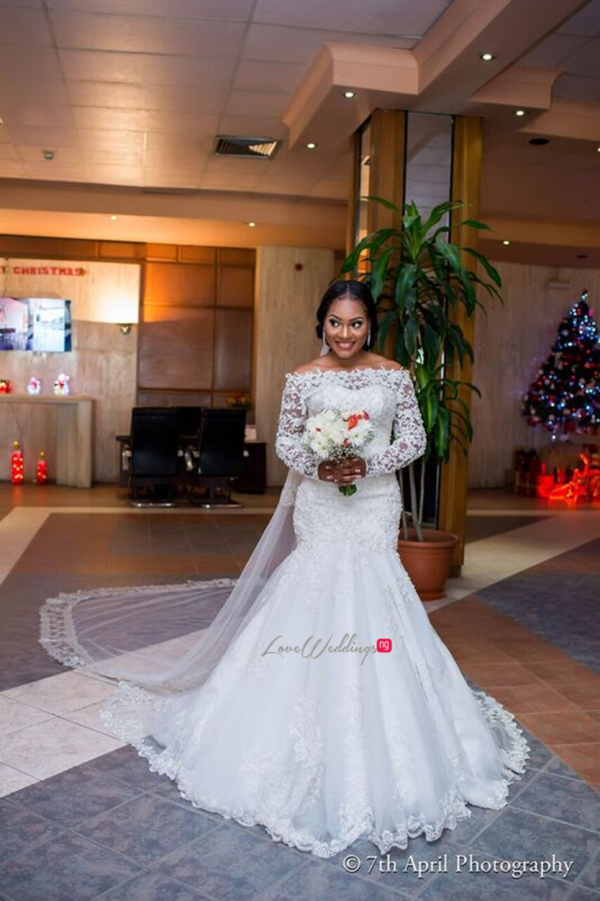 Nigerian White Wedding - Afaa and Percy 7th April Photography LoveweddingsNG 10