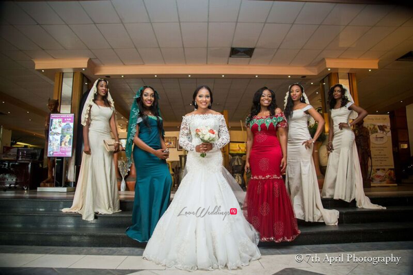 Nigerian White Wedding - Afaa and Percy 7th April Photography LoveweddingsNG 11
