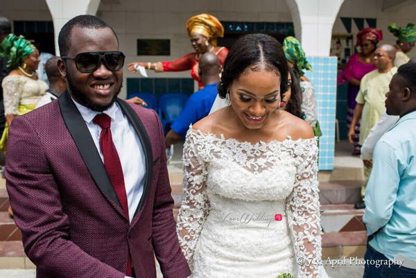 Nigerian White Wedding - Afaa and Percy 7th April Photography LoveweddingsNG 19