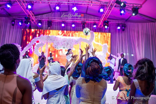 Nigerian White Wedding - Afaa and Percy 7th April Photography LoveweddingsNG 29