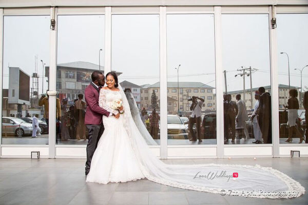 Nigerian White Wedding - Afaa and Percy 7th April Photography LoveweddingsNG 48