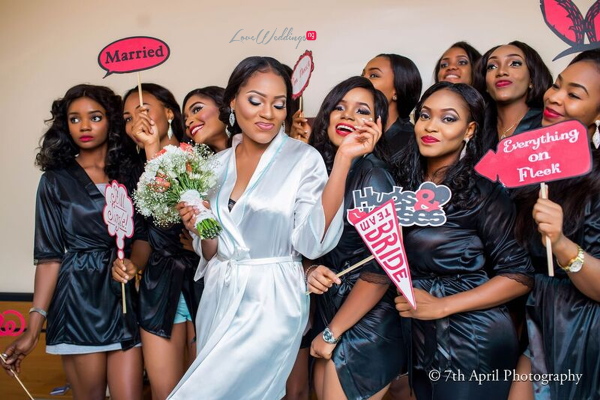 Nigerian White Wedding - Afaa and Percy 7th April Photography LoveweddingsNG 7