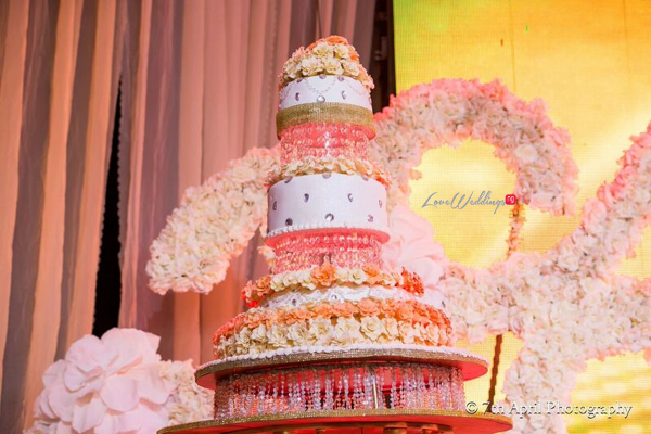 Nigerian White Wedding - Afaa and Percy 7th April Photography LoveweddingsNG cake