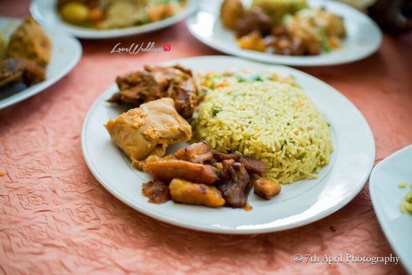 Nigerian White Wedding - Afaa and Percy 7th April Photography LoveweddingsNG food