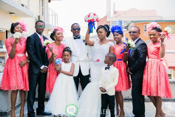 Nigerian White Wedding Bridal Train - Teju Yinka LoveweddingsNG