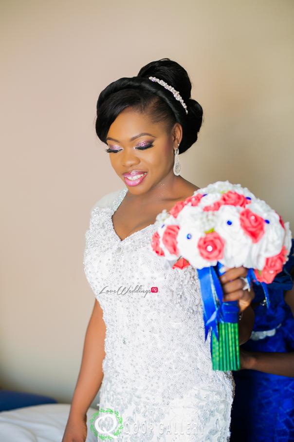 Nigerian White Wedding Bride - Teju Yinka LoveweddingsNG