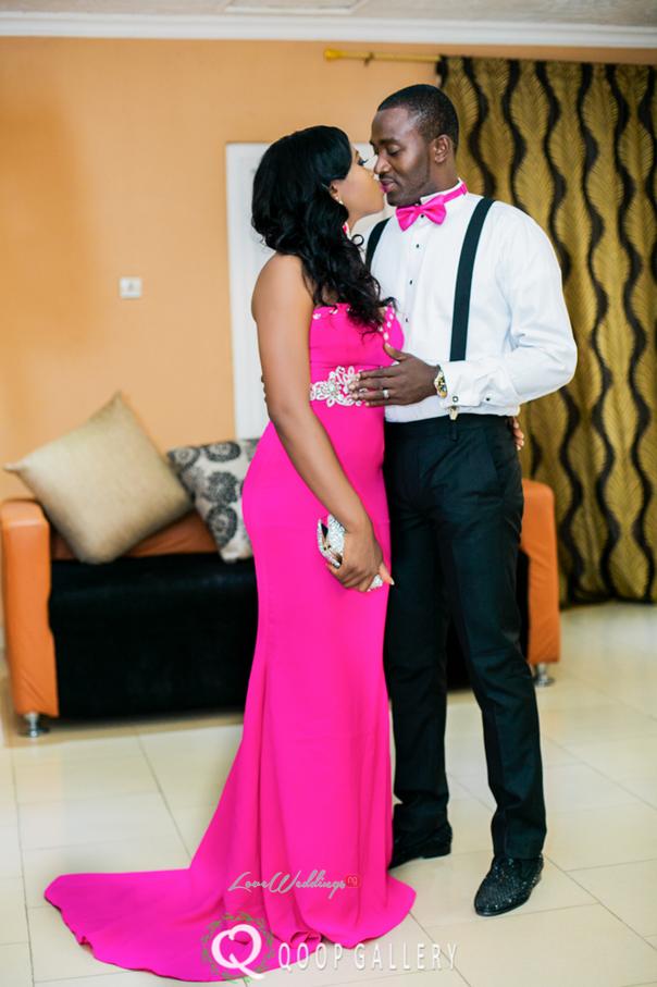 Nigerian White Wedding - Bride and Groom Kiss - Teju Yinka LoveweddingsNG 1