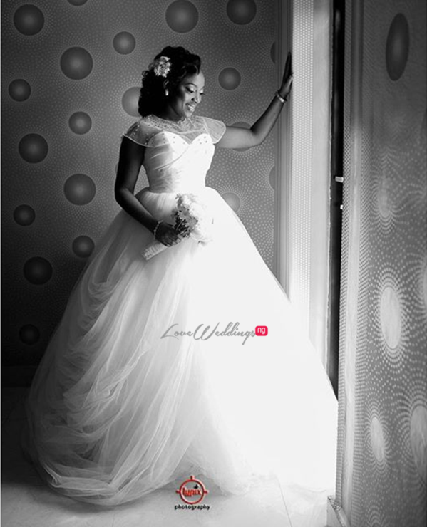 Nigerian White Wedding - Caroline Tobi #CacaTobi LoveweddingsNG 1