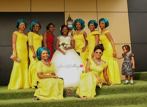 Nigerian White Wedding - Caroline Tobi #CacaTobi LoveweddingsNG 2