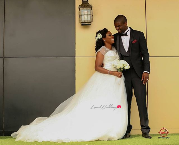 Nigerian White Wedding - Caroline Tobi #CacaTobi LoveweddingsNG 4