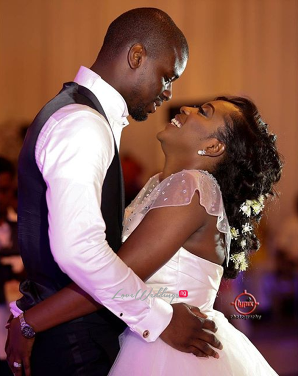 Nigerian White Wedding - Caroline Tobi #CacaTobi LoveweddingsNG
