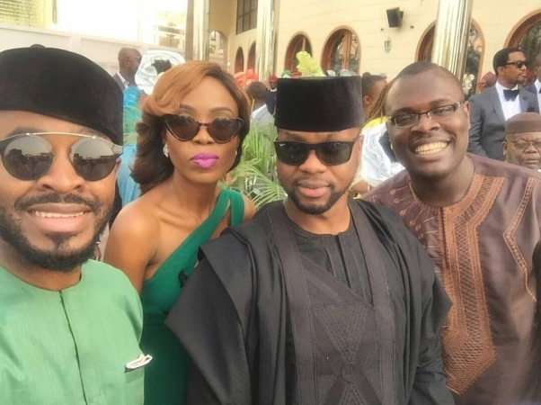 #OBI2016 Wedding Guests - OC Ukeje, Kemi Lala Akindoju, Debola Lagos,