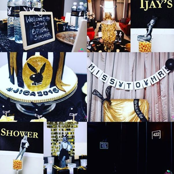 766af3d0ce2b Playboy Themed Bridal Shower Partito by Ronnie LoveweddingsNG 9