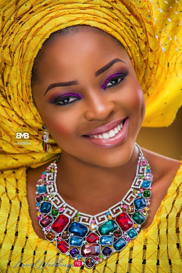 Yellow Traditional Braditional Inspiration BMB Photography LoveweddingsNG15