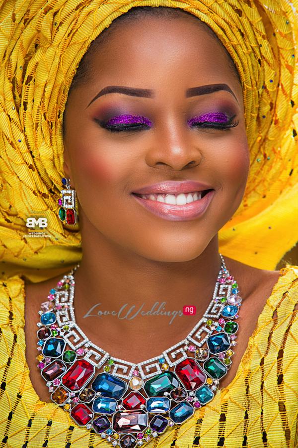 Yellow Traditional Bridal Inspiration BMB Photography LoveweddingsNG14