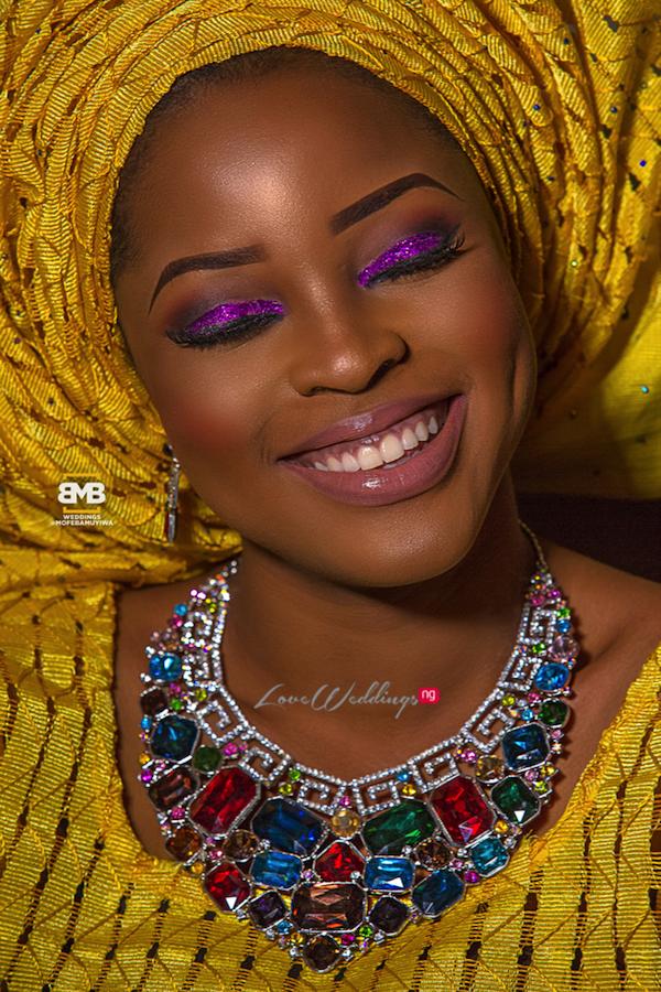 Yellow Traditional Bridal Inspiration BMB Photography LoveweddingsNG17