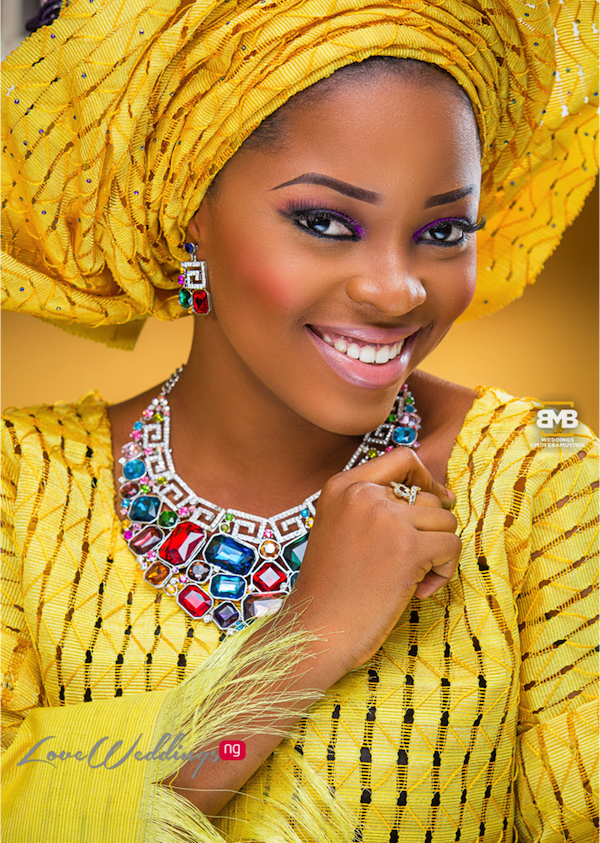 Yellow Traditional Bridal Inspiration BMB Photography LoveweddingsNG4