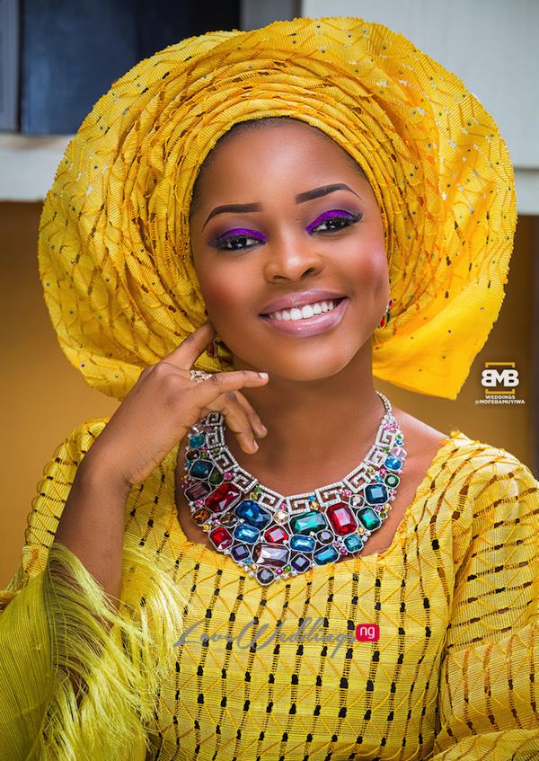 Yellow Traditional Bridal Inspiration BMB Photography LoveweddingsNG6