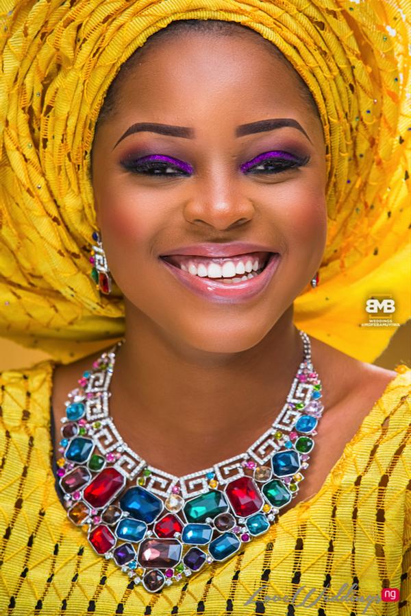Yellow Traditional Bridal Inspiration BMB Photography LoveweddingsNG7