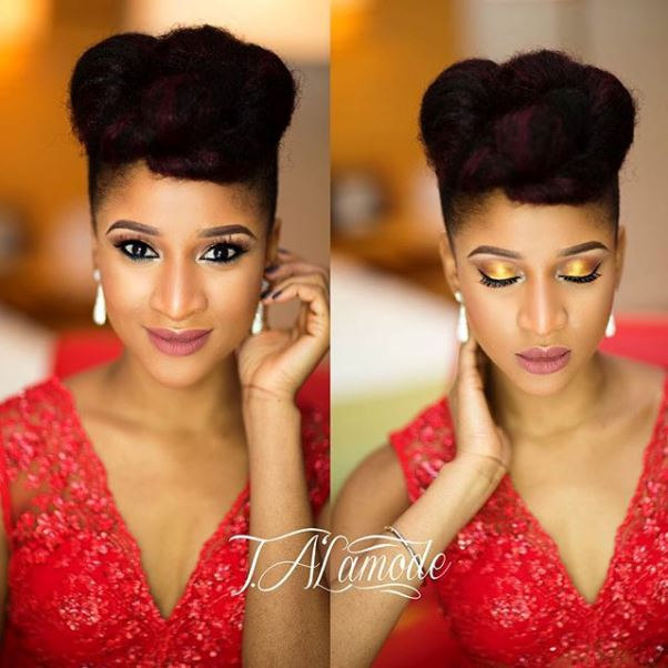 AMVCA2016 - Adesua Etomi T.A'Lamode Makeup LoveweddingsNG 1
