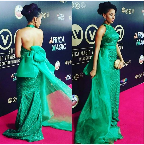 AMVCA2016 - Red Carpet to Aisle Inspiration LoveweddingsNG Adesua Etomi