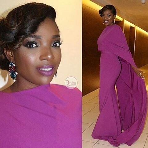 AMVCA2016 - Red Carpet to Aisle Inspiration LoveweddingsNG Annie Idibia 1