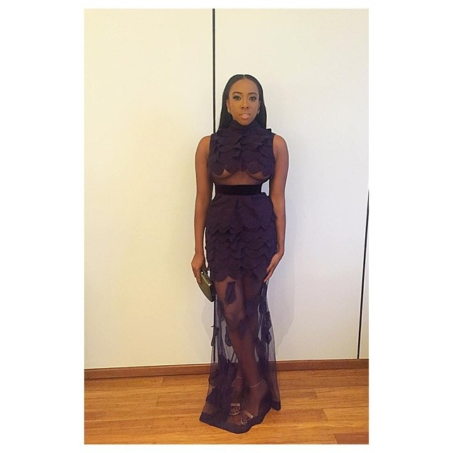 AMVCA2016 - Red Carpet to Aisle Inspiration LoveweddingsNG Fade Ogunro