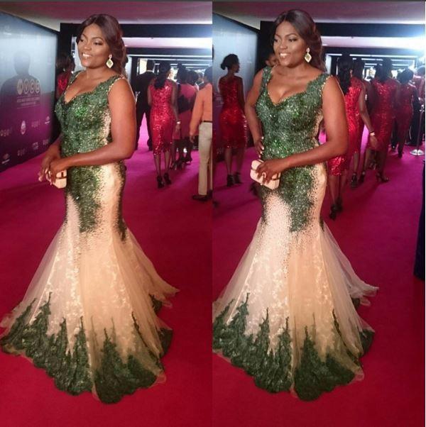 AMVCA2016 - Red Carpet to Aisle Inspiration LoveweddingsNG Funke Akindele 1