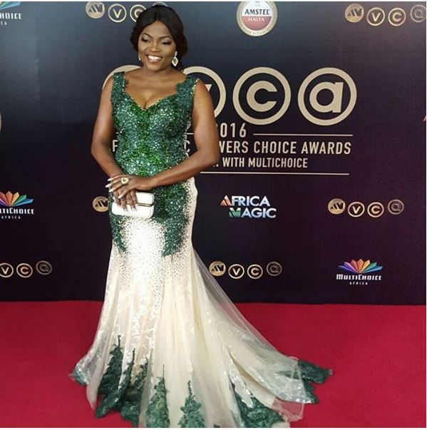 AMVCA2016 - Red Carpet to Aisle Inspiration LoveweddingsNG Funke Akindele