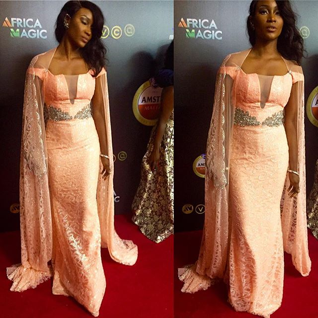 AMVCA2016 - Red Carpet to Aisle Inspiration LoveweddingsNG Isio Wanogho