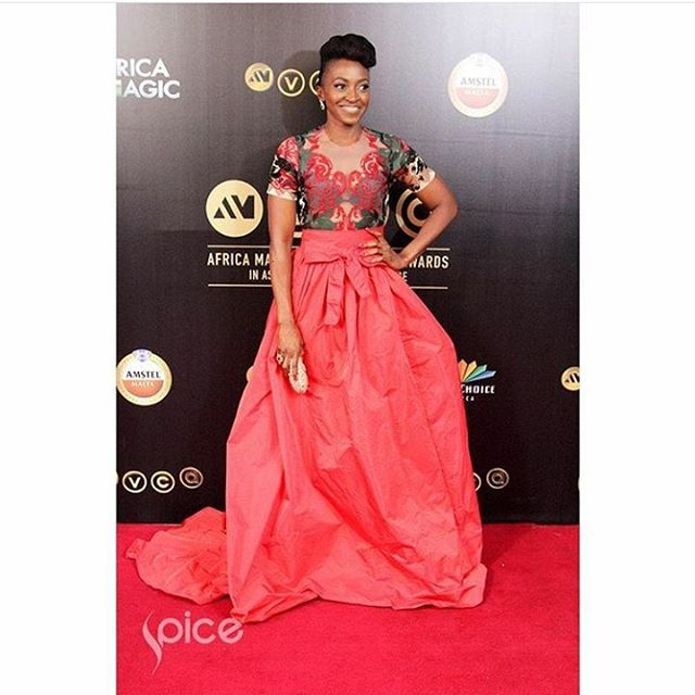 AMVCA2016 - Red Carpet to Aisle Inspiration LoveweddingsNG Kate Henshaw 1