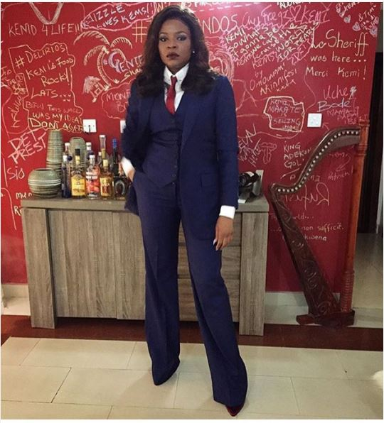 AMVCA2016 - Red Carpet to Aisle Inspiration LoveweddingsNG Kemi Adetiba in Mai Atafo