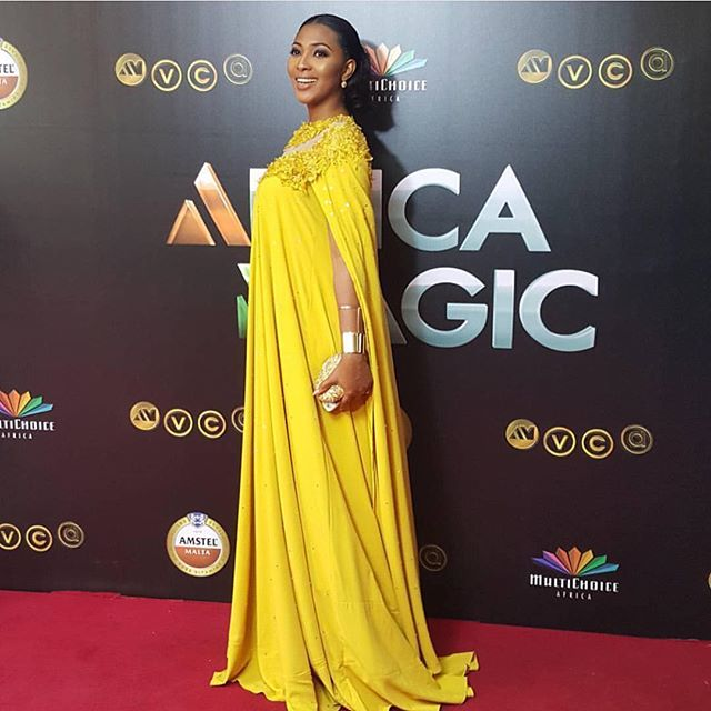 AMVCA2016 - Red Carpet to Aisle Inspiration LoveweddingsNG Lilian Esoro Franklin