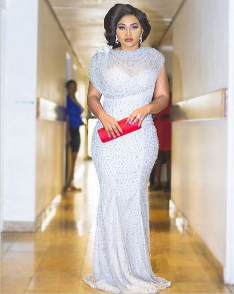 AMVCA2016 - Red Carpet to Aisle Inspiration LoveweddingsNG Mercy Aigbe Gentry