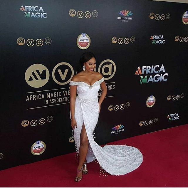 AMVCA2016 - Red Carpet to Aisle Inspiration LoveweddingsNG Minnie Dlamini