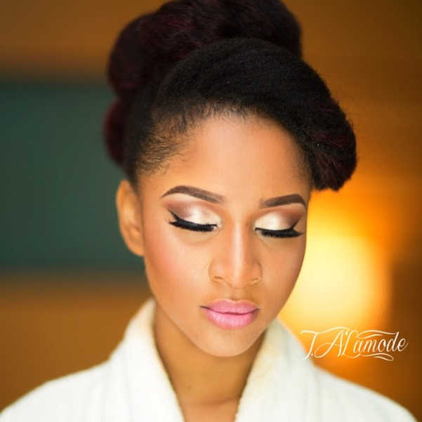 Adesua Etomi Makeup by T.Alamode Makeup LoveweddingsNG 1
